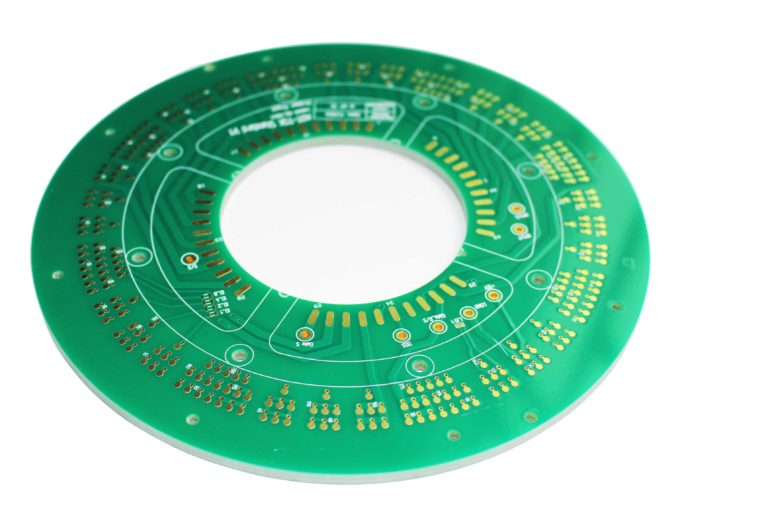 Semiconductor test PCB