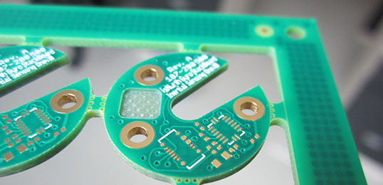 Depth milling PCB