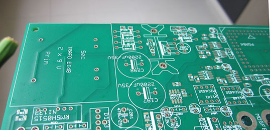 PCB silkscree printing-feature