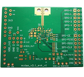 small BGA pad PCB