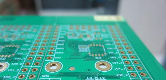 PCB copper pour-feature